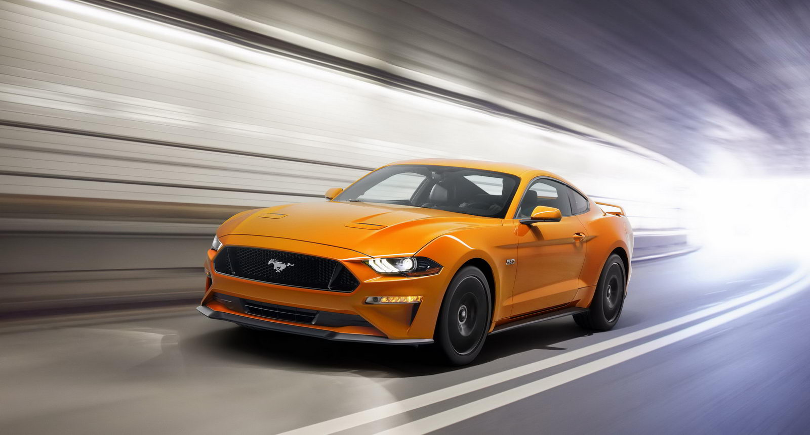 Ford Mustang GT facelift 2018 1