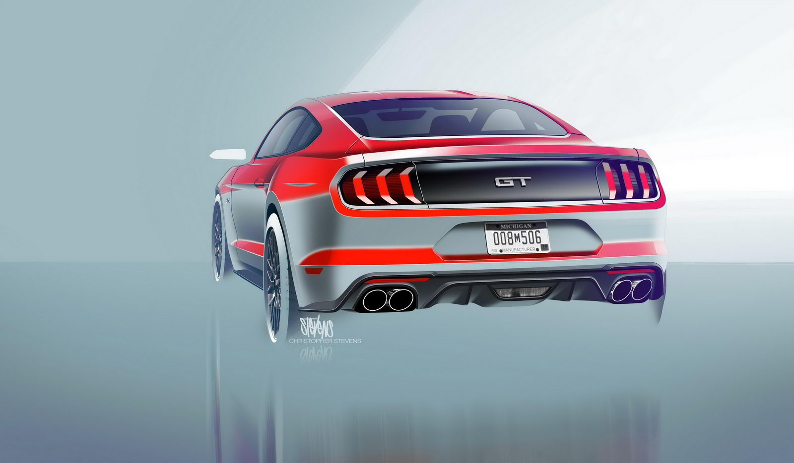 Ford Mustang GT facelift 2018 10