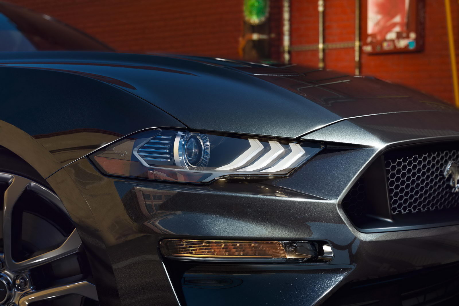 Ford Mustang GT facelift 2018 13