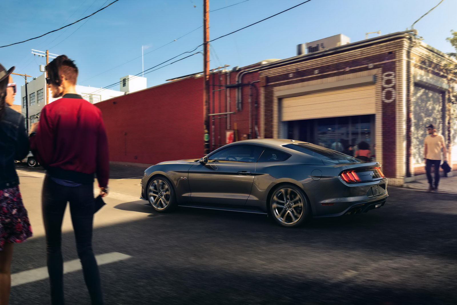 Ford Mustang GT facelift 2018 24