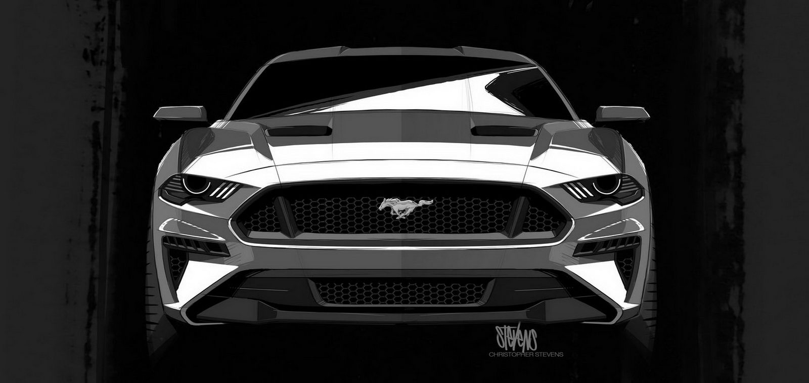 Ford Mustang GT facelift 2018 5