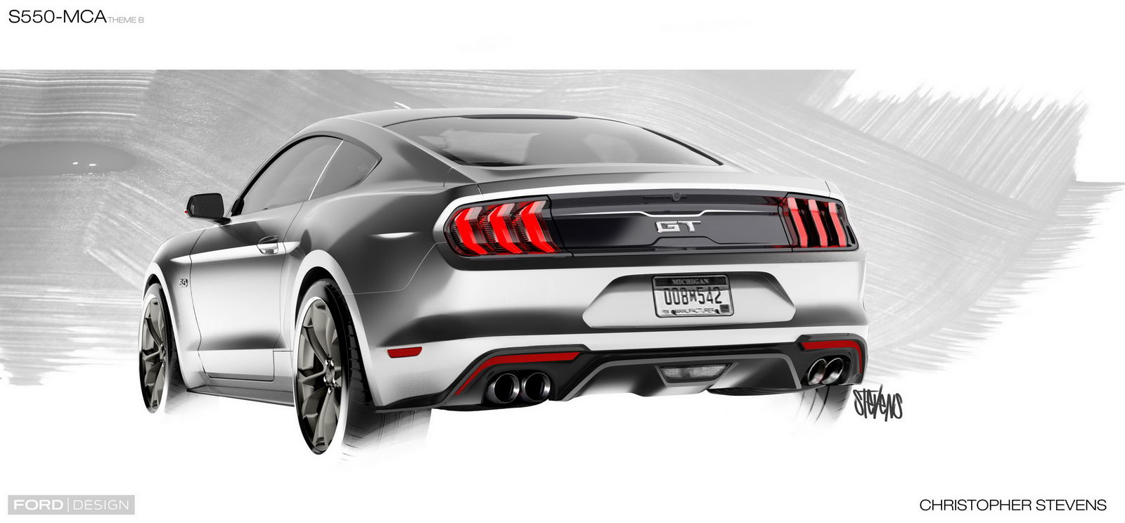 Ford Mustang GT facelift 2018 6