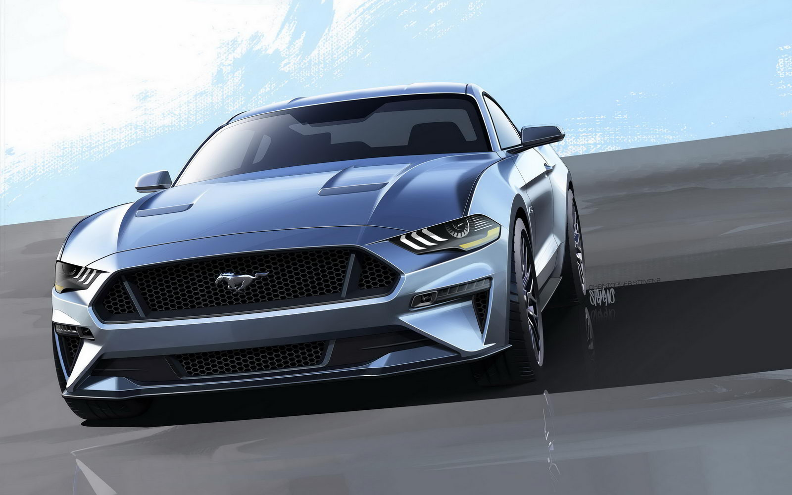 Ford Mustang GT facelift 2018 7