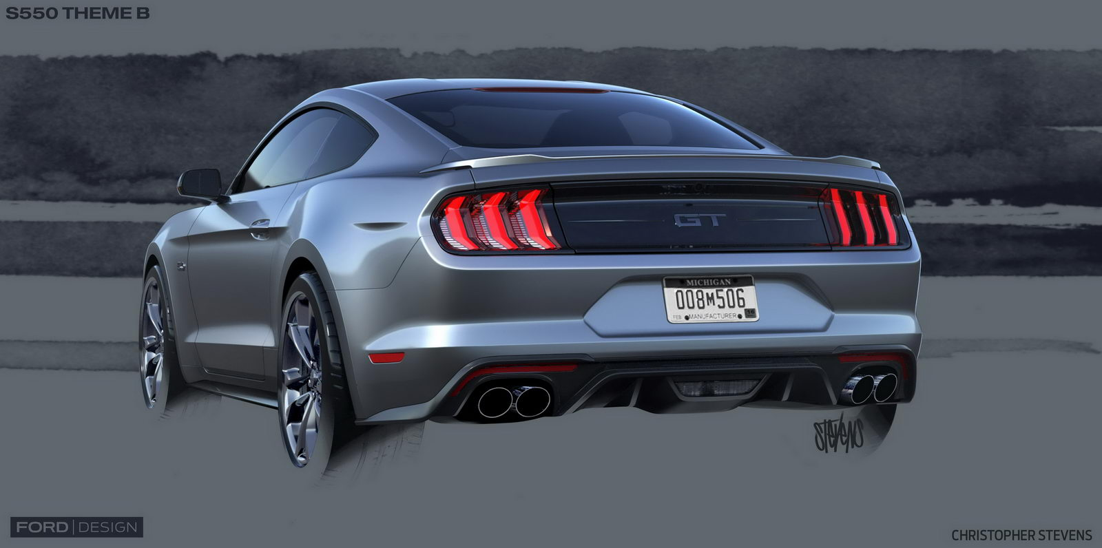 Ford Mustang GT facelift 2018 8