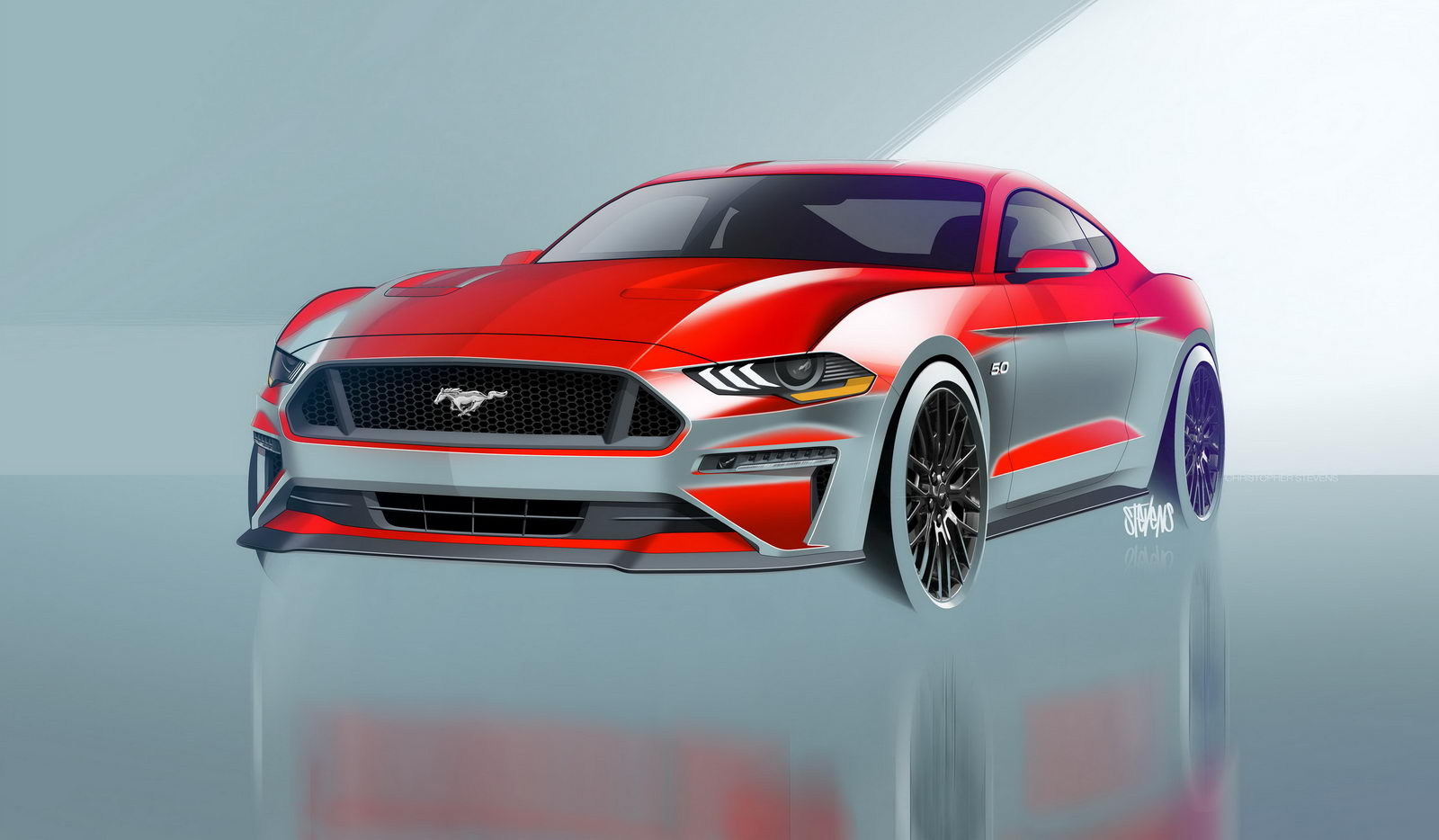 Ford Mustang GT facelift 2018 9