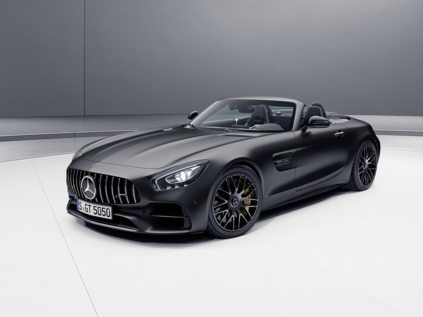 Mercedes AMG GT C Roadster Edition 50 0