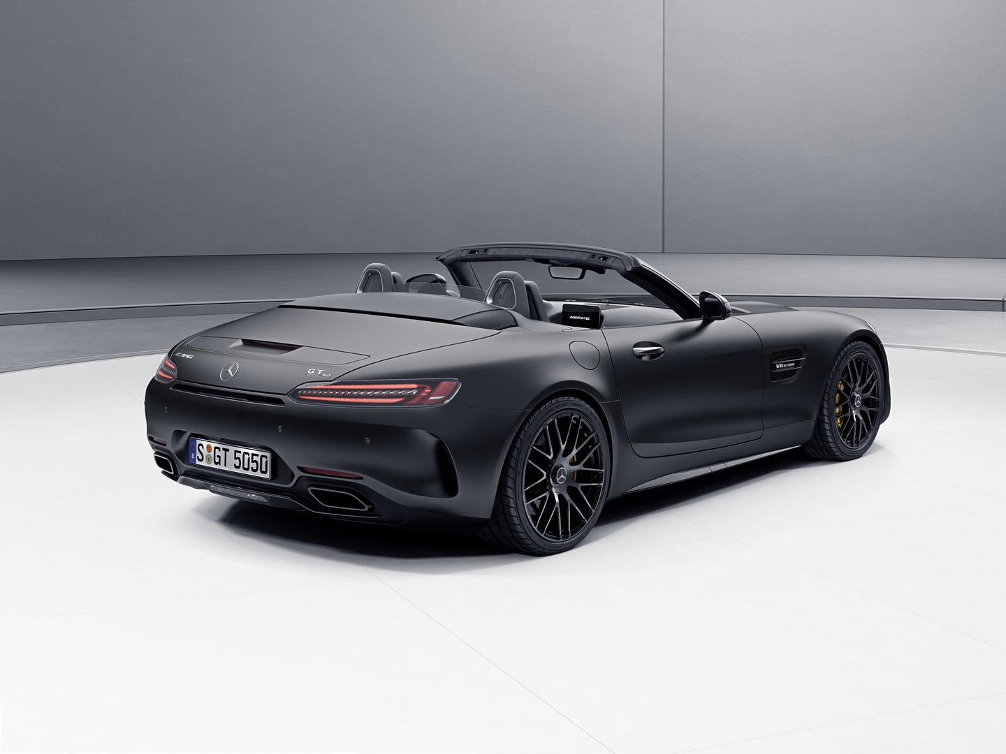 Mercedes AMG GT C Roadster Edition 50 1