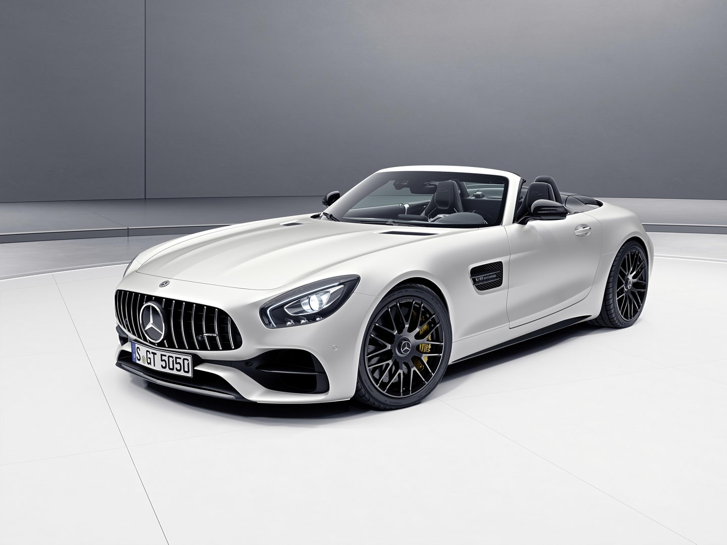 Mercedes AMG GT C Roadster Edition 50 2