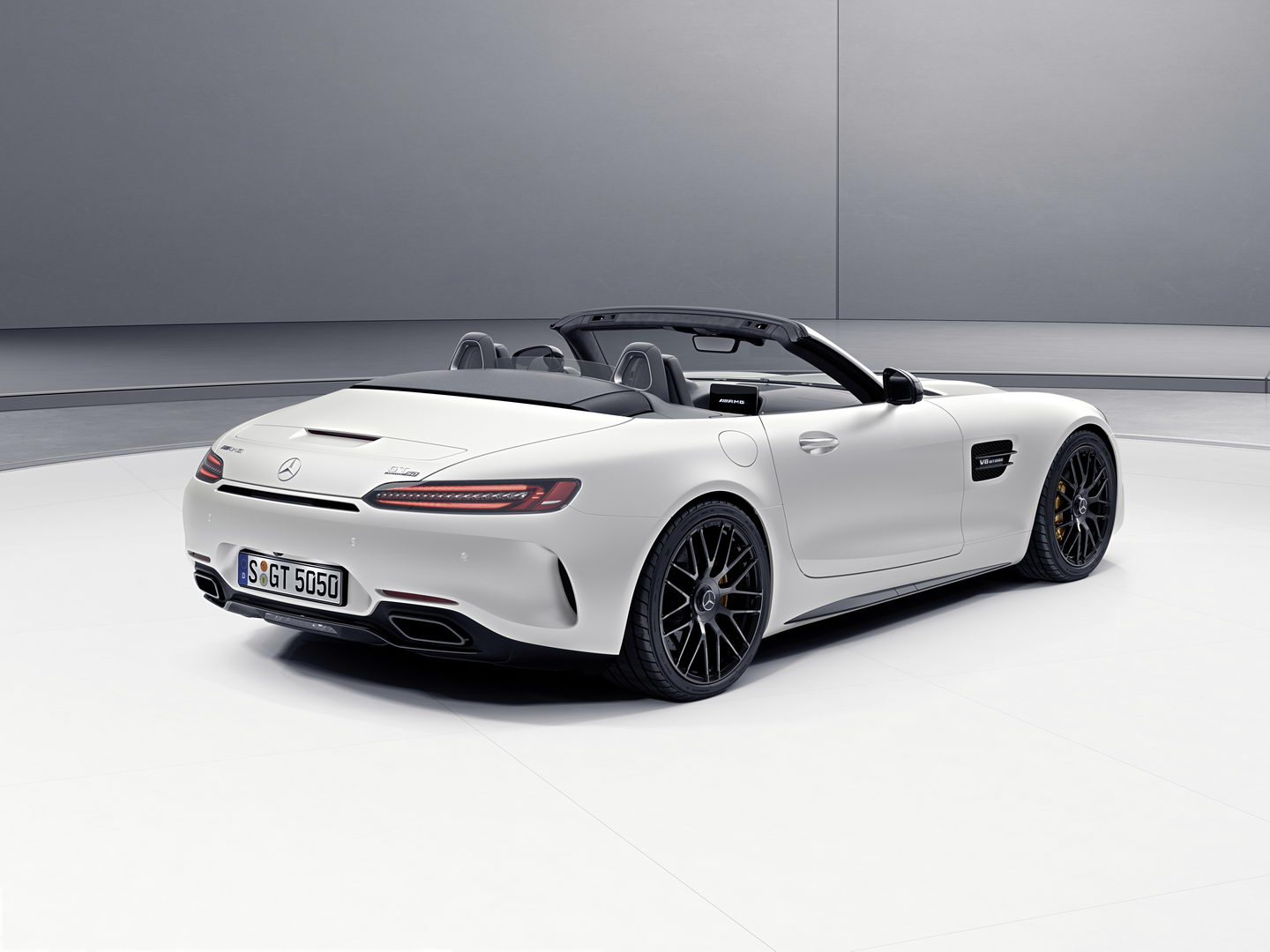 Mercedes AMG GT C Roadster Edition 50 3