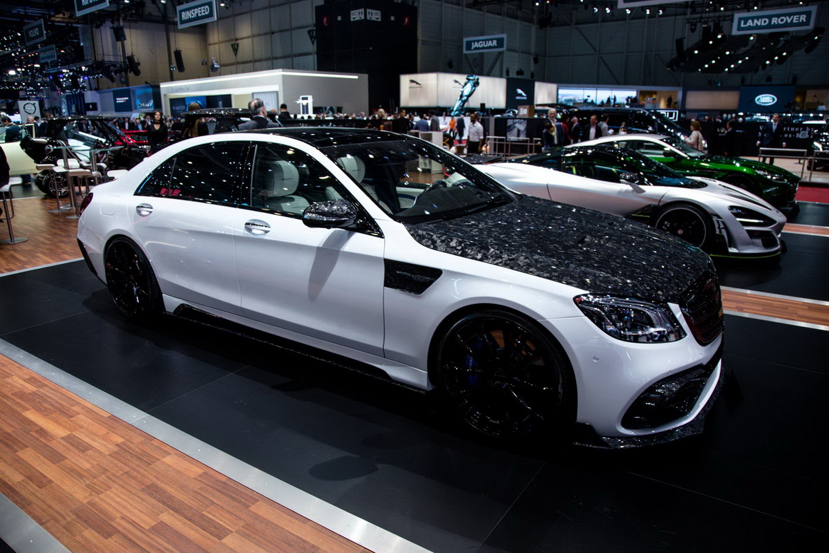 MANSORY Mercedes S Class AMG S63 1