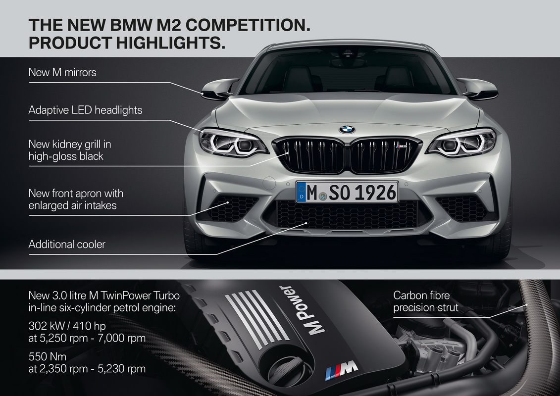 New BMW M2 Competition 2018 48