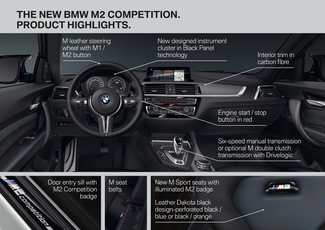 New BMW M2 Competition 2018 49