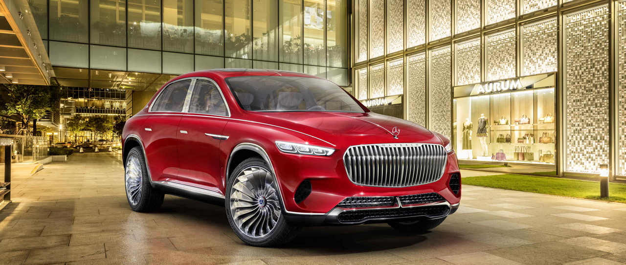 Vision Mercedes Maybach Ultimate Luxury Concept 2018 1