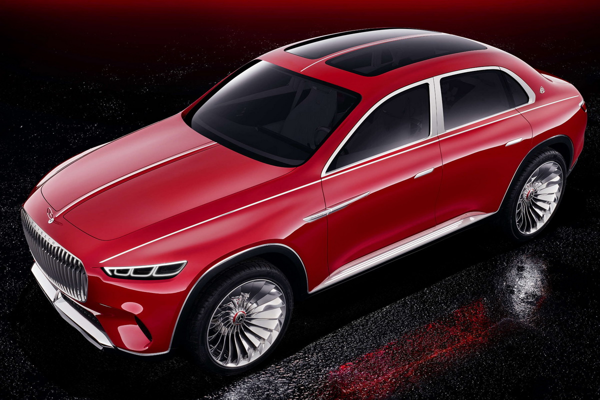 Vision Mercedes Maybach Ultimate Luxury Concept 2018 10