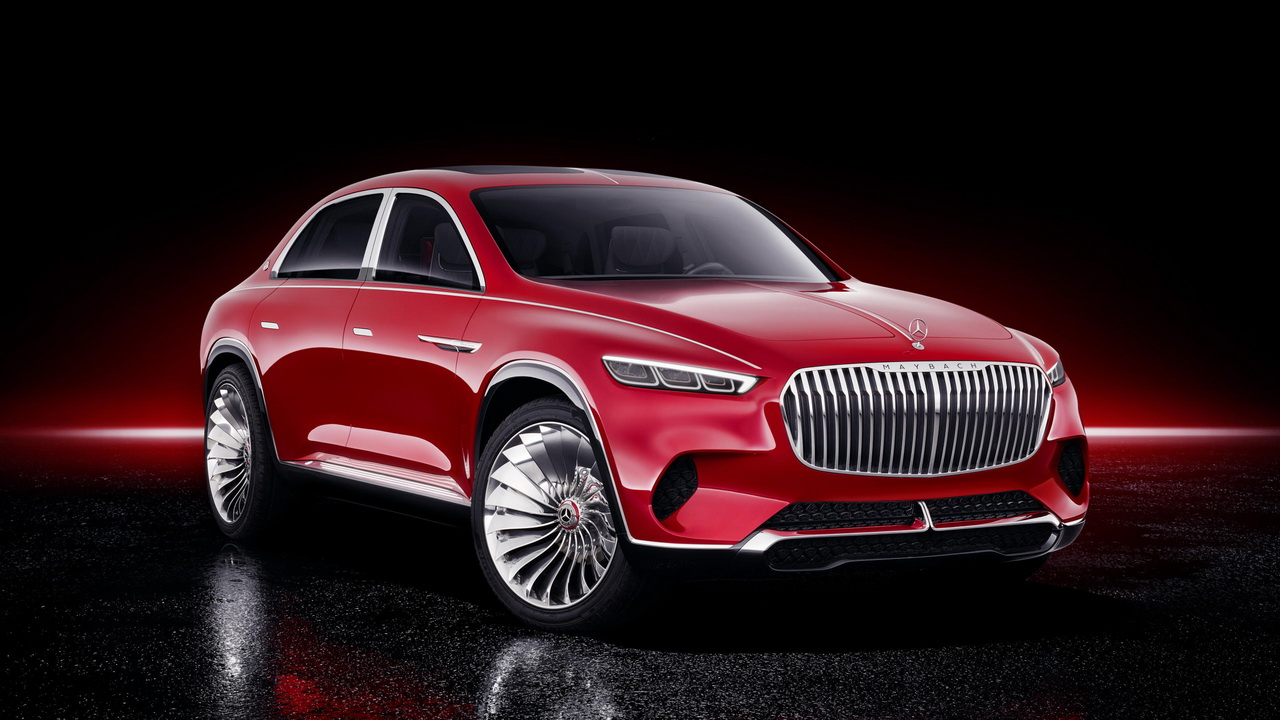 Vision Mercedes Maybach Ultimate Luxury Concept 2018 11