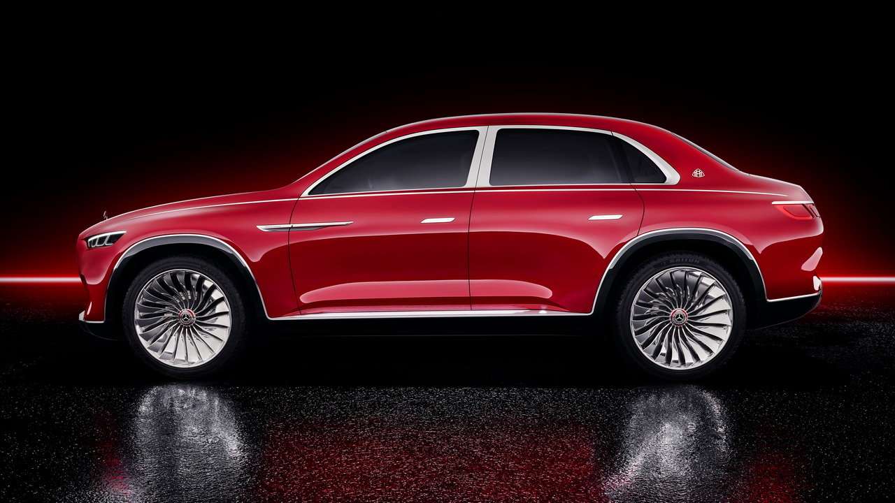 Vision Mercedes Maybach Ultimate Luxury Concept 2018 12