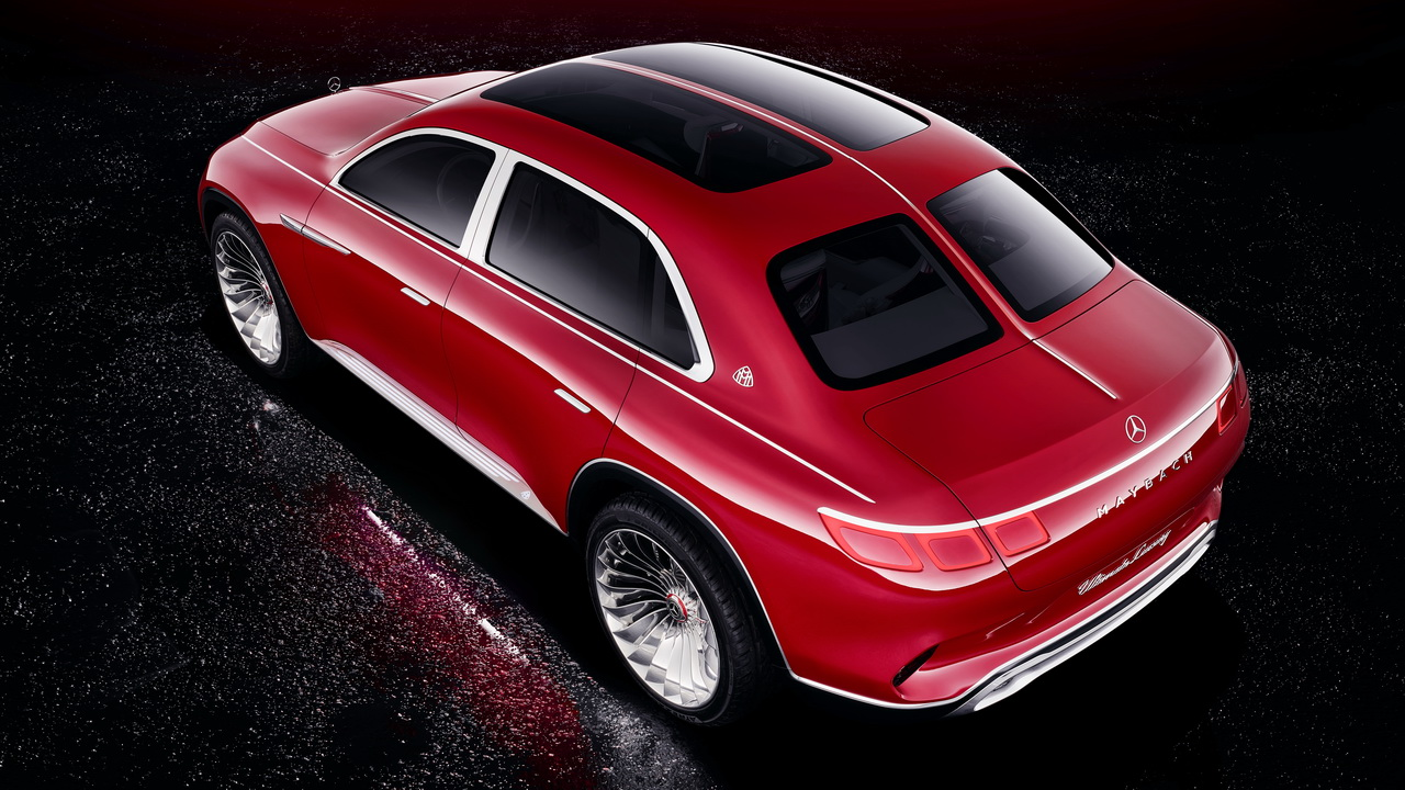 Vision Mercedes Maybach Ultimate Luxury Concept 2018 13