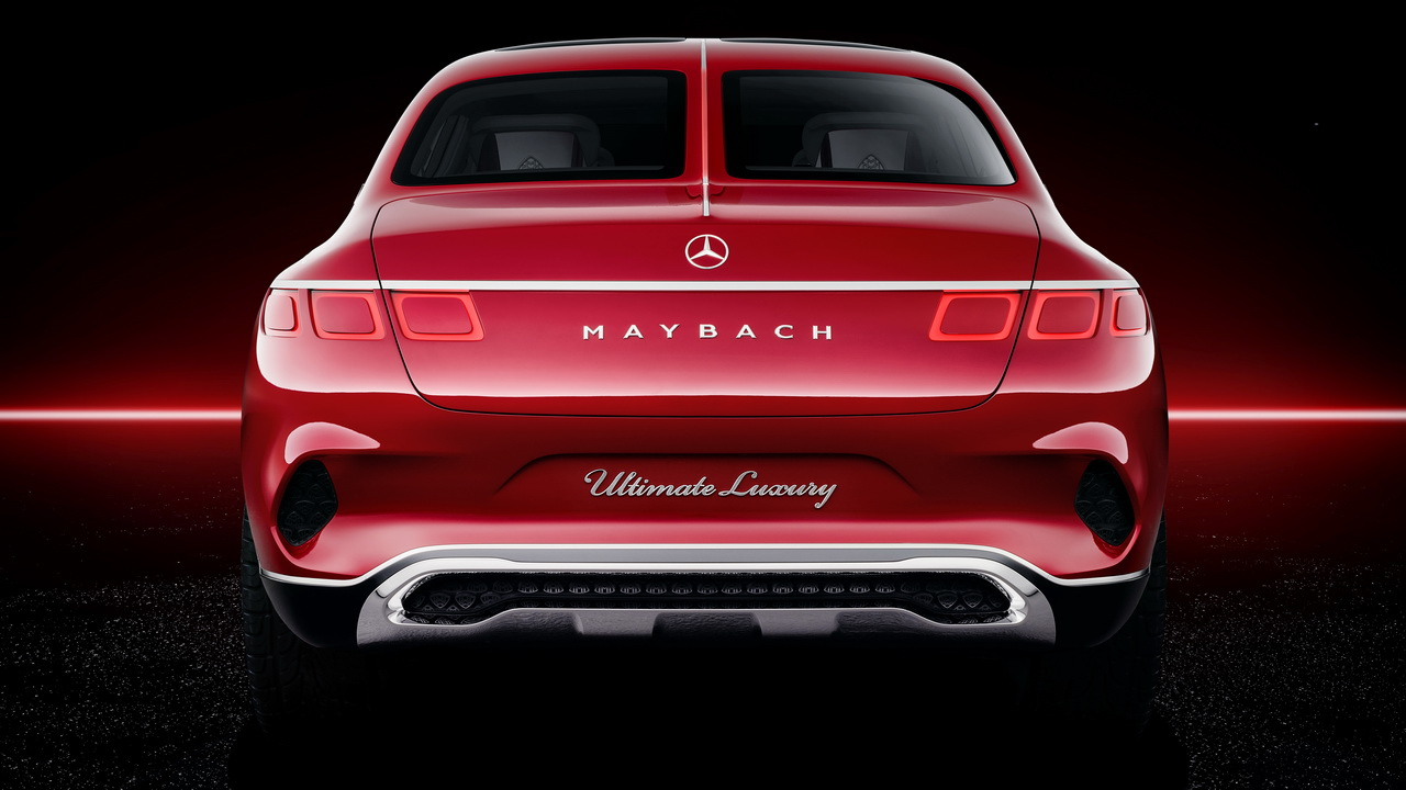 Vision Mercedes Maybach Ultimate Luxury Concept 2018 14
