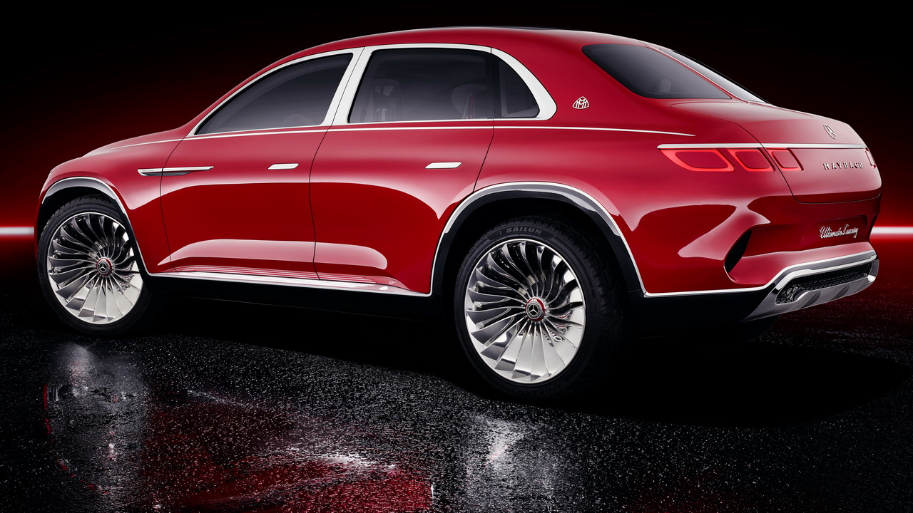 Vision Mercedes Maybach Ultimate Luxury Concept 2018 15