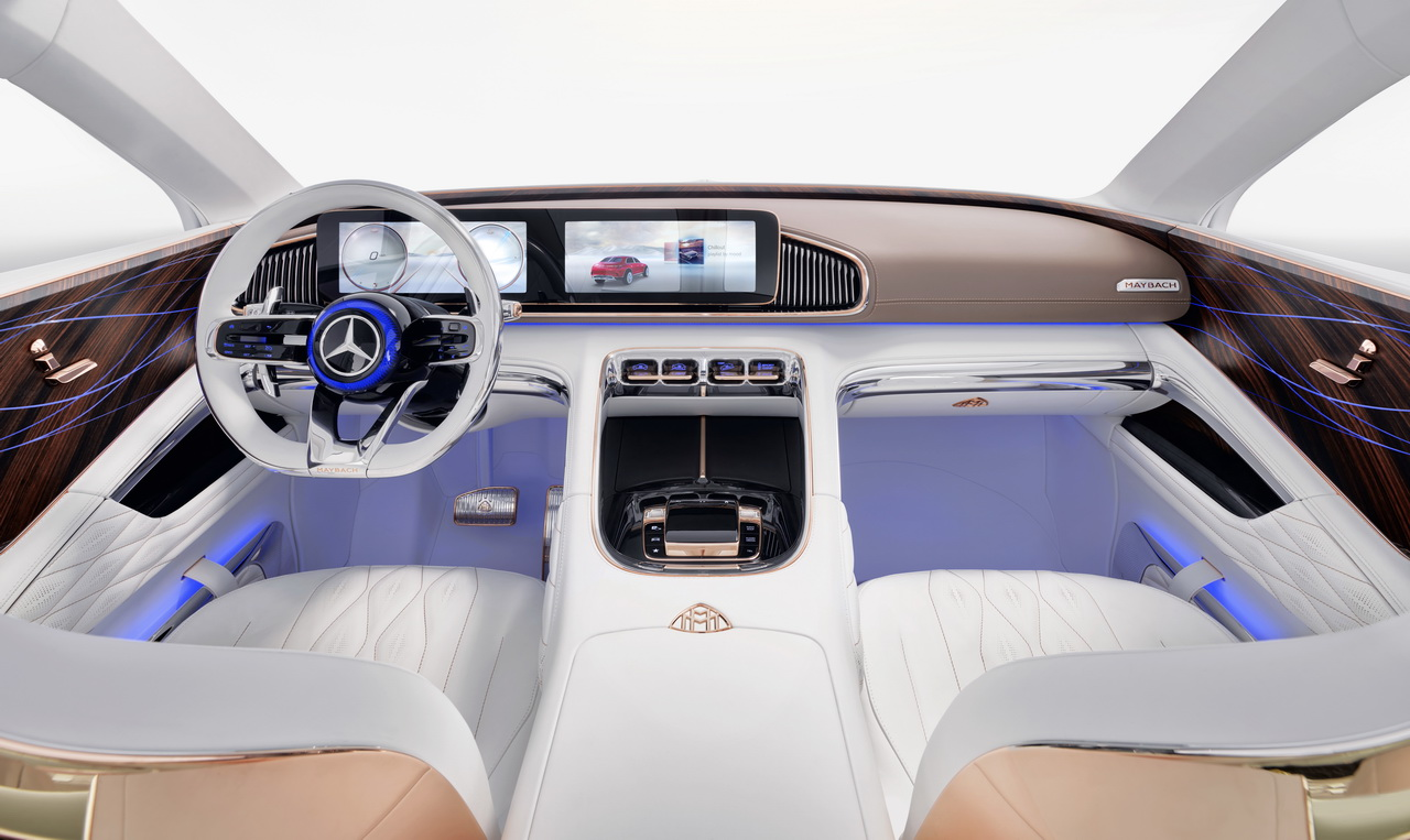 Vision Mercedes Maybach Ultimate Luxury Concept 2018 16