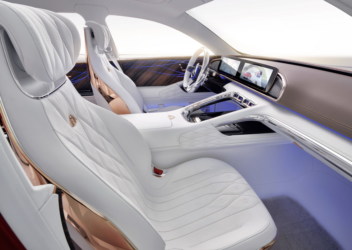 Vision Mercedes Maybach Ultimate Luxury Concept 2018 19