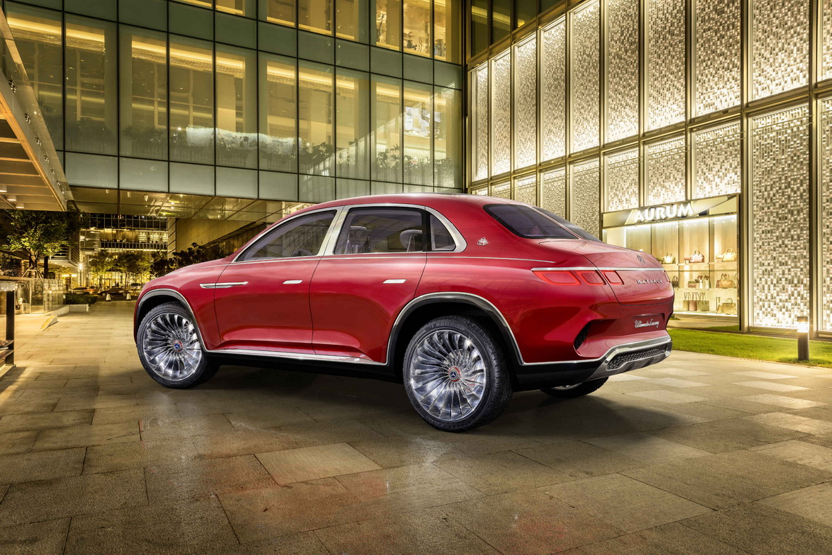Vision Mercedes Maybach Ultimate Luxury Concept 2018 2