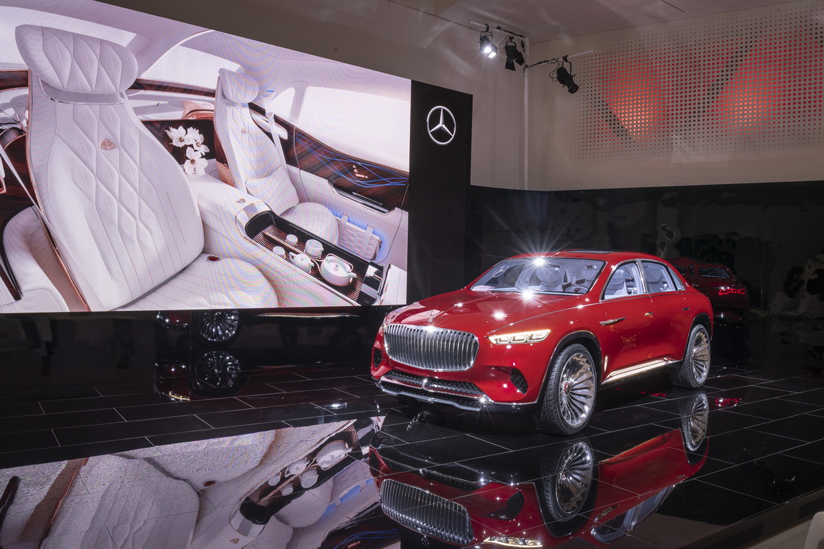 Vision Mercedes Maybach Ultimate Luxury Concept 2018 21