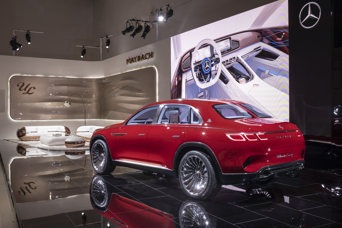 Vision Mercedes Maybach Ultimate Luxury Concept 2018 23