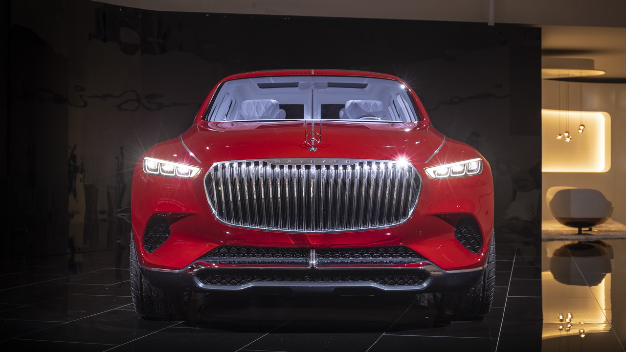 Vision Mercedes Maybach Ultimate Luxury Concept 2018 26