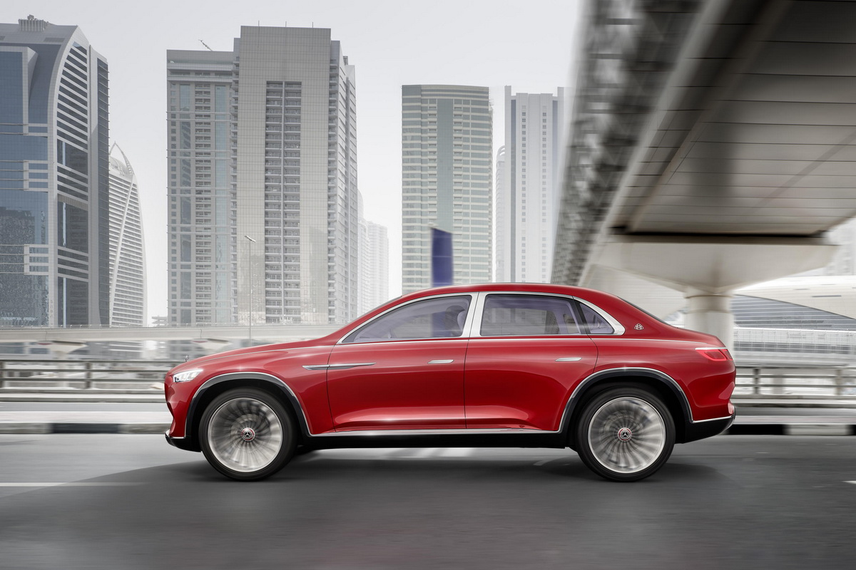 Vision Mercedes Maybach Ultimate Luxury Concept 2018 3