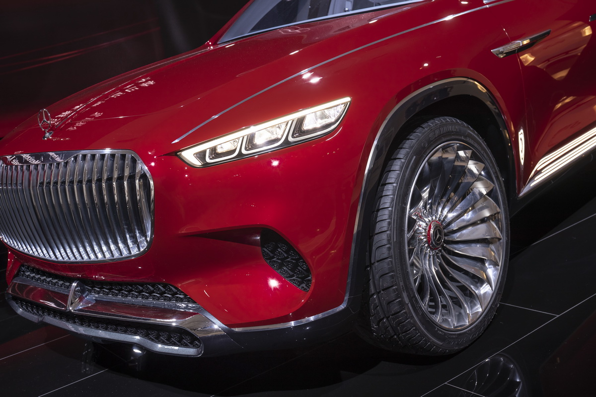 Vision Mercedes Maybach Ultimate Luxury Concept 2018 30