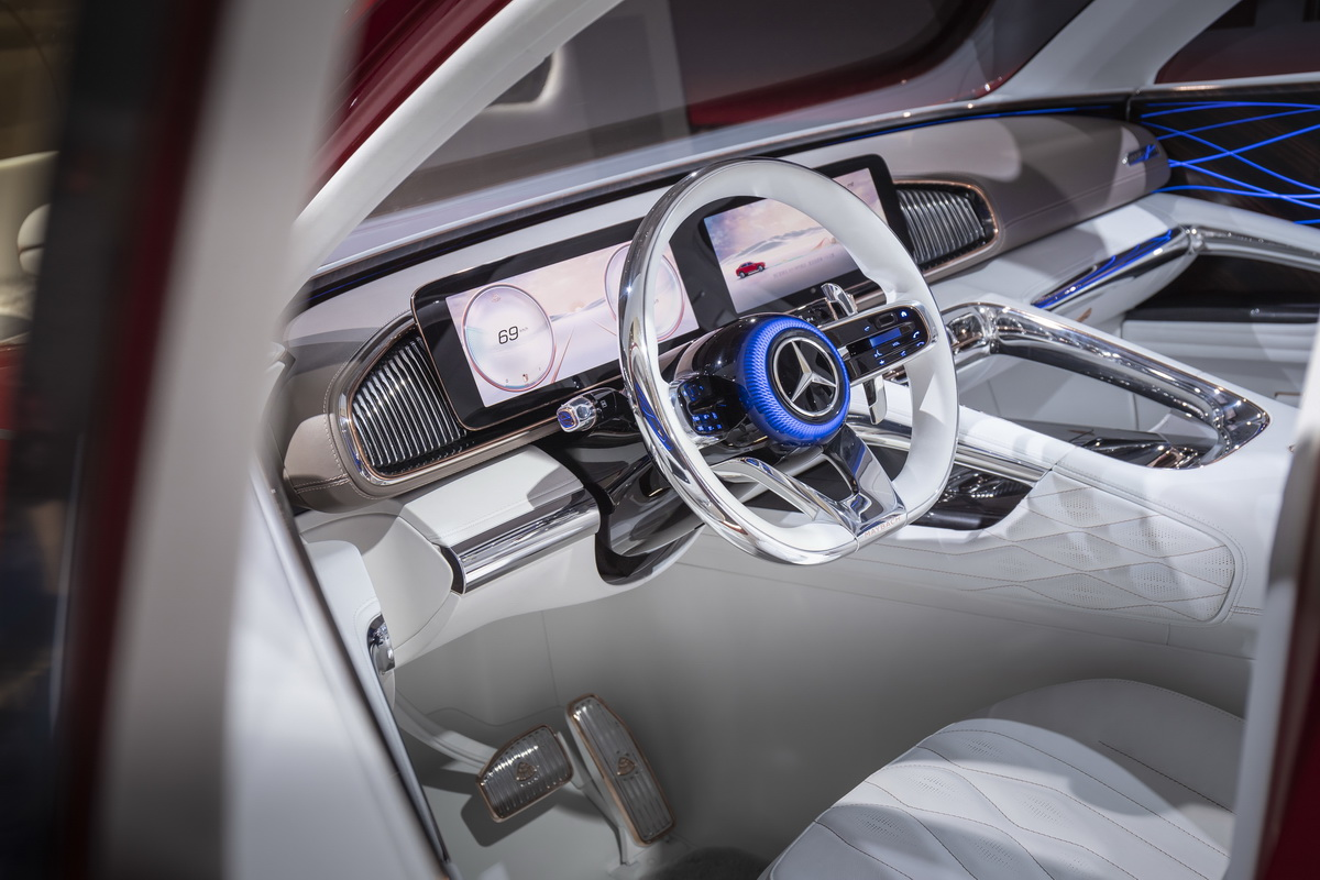 Vision Mercedes Maybach Ultimate Luxury Concept 2018 31