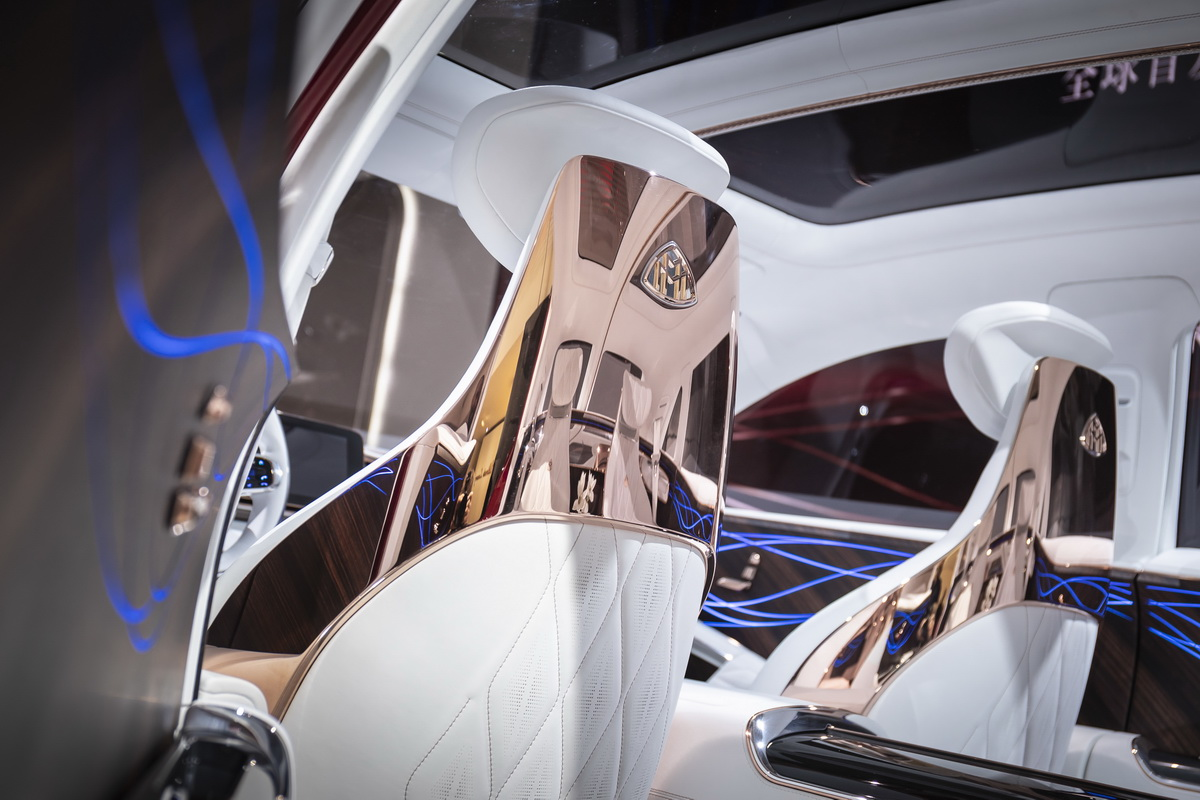Vision Mercedes Maybach Ultimate Luxury Concept 2018 33