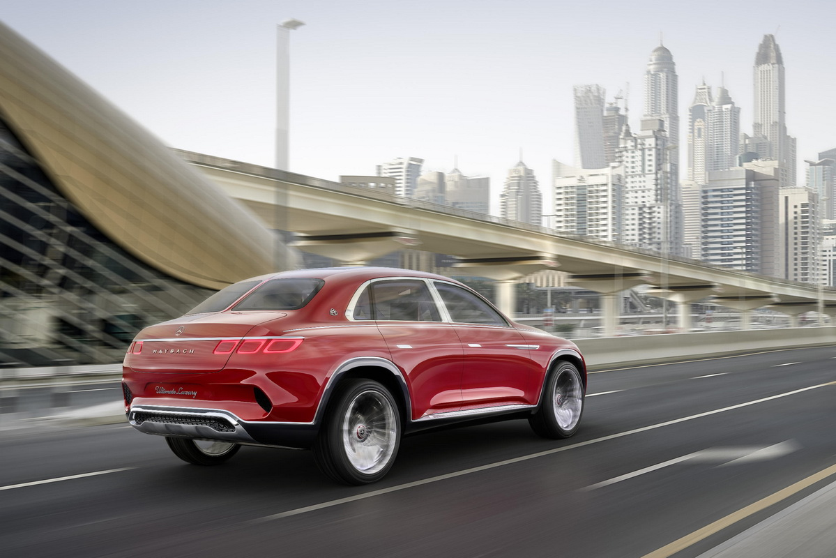Vision Mercedes Maybach Ultimate Luxury Concept 2018 4