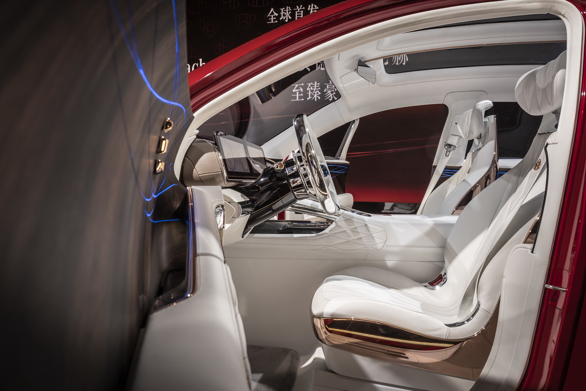 Vision Mercedes Maybach Ultimate Luxury Concept 2018 43