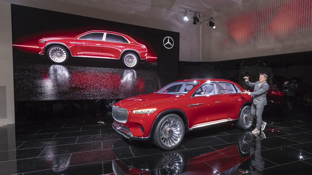 Vision Mercedes Maybach Ultimate Luxury Concept 2018 46
