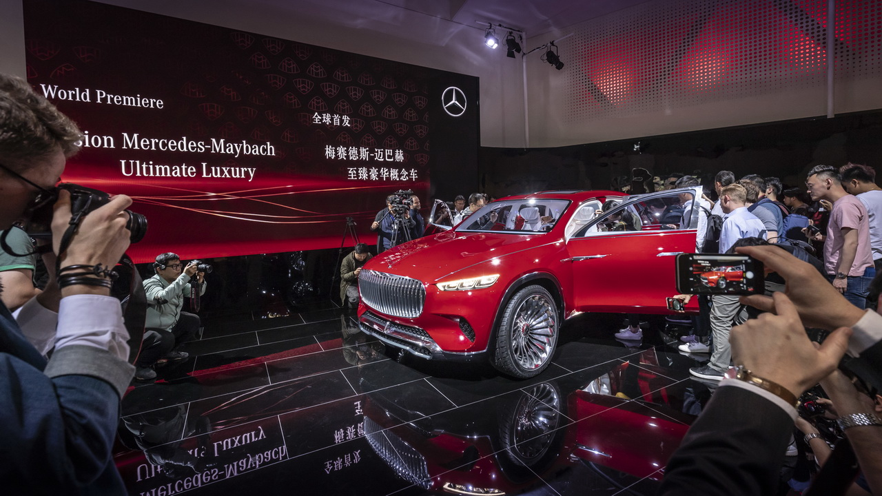 Vision Mercedes Maybach Ultimate Luxury Concept 2018 48