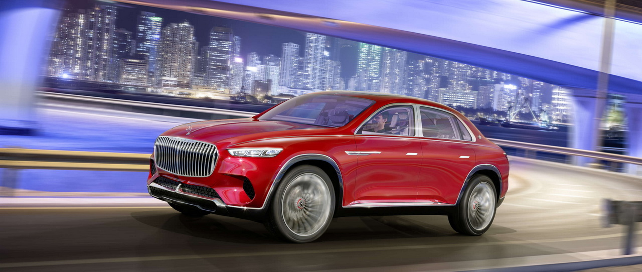 Vision Mercedes Maybach Ultimate Luxury Concept 2018 5