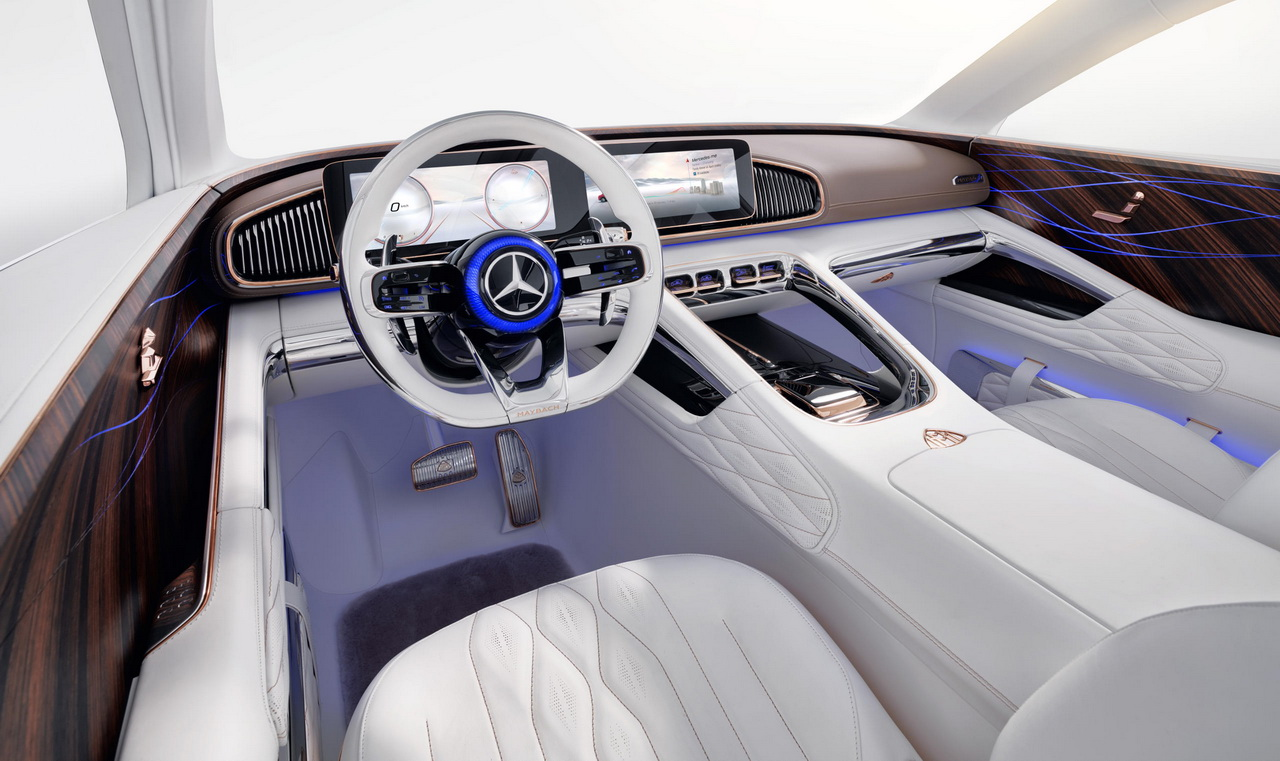 Vision Mercedes Maybach Ultimate Luxury Concept 2018 7
