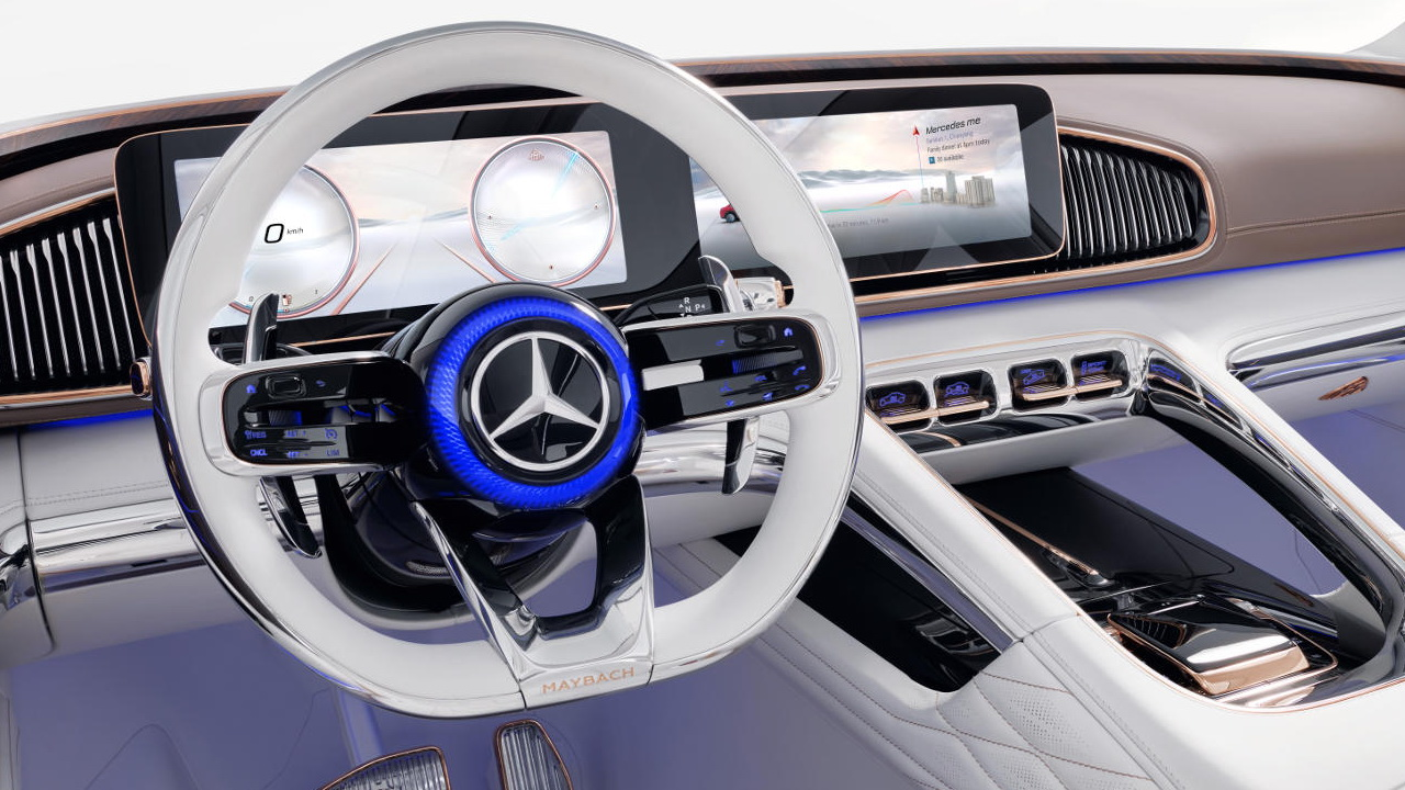 Vision Mercedes Maybach Ultimate Luxury Concept 2018 8