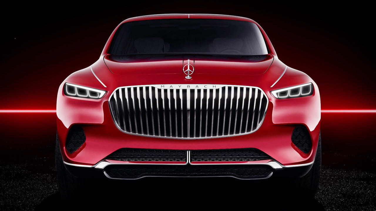 Vision Mercedes Maybach Ultimate Luxury Concept 2018 9
