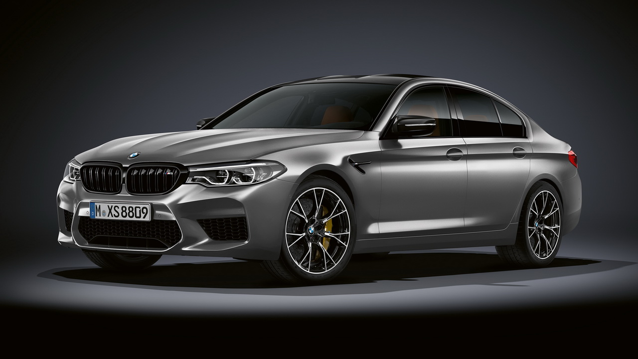 New BMW M5 Competition 2018 0
