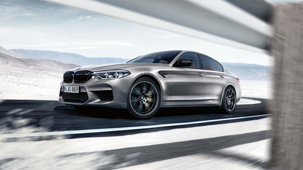 New BMW M5 Competition 2018 22