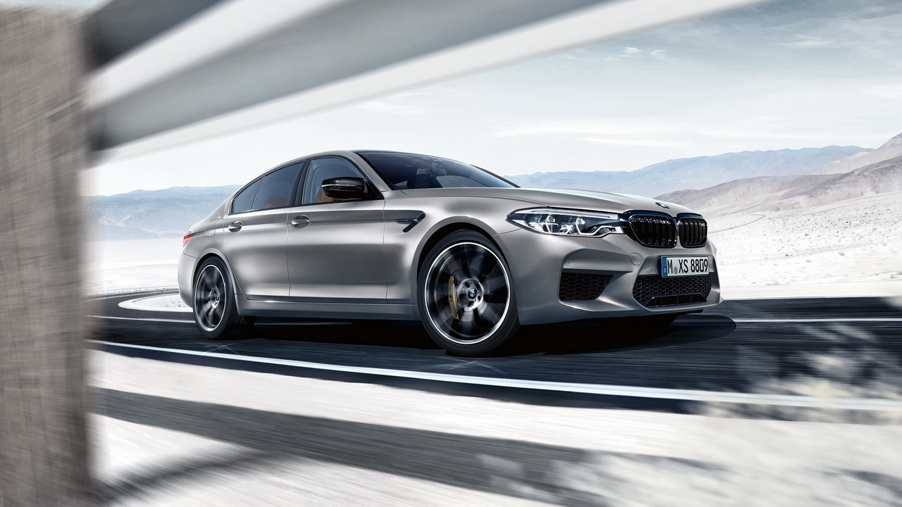 New BMW M5 Competition 2018 23