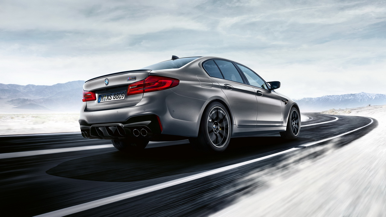 New BMW M5 Competition 2018 24