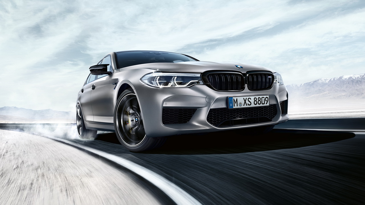 New BMW M5 Competition 2018 25
