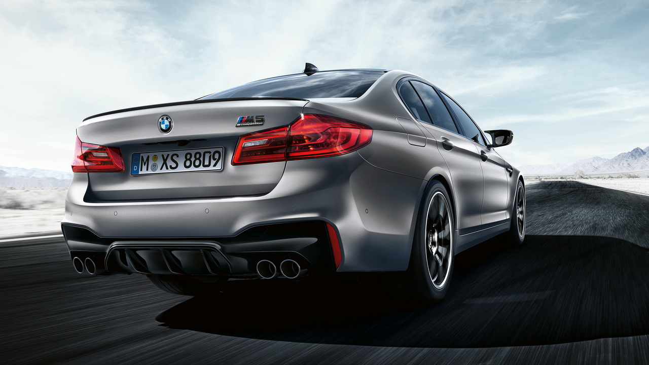 New BMW M5 Competition 2018 28