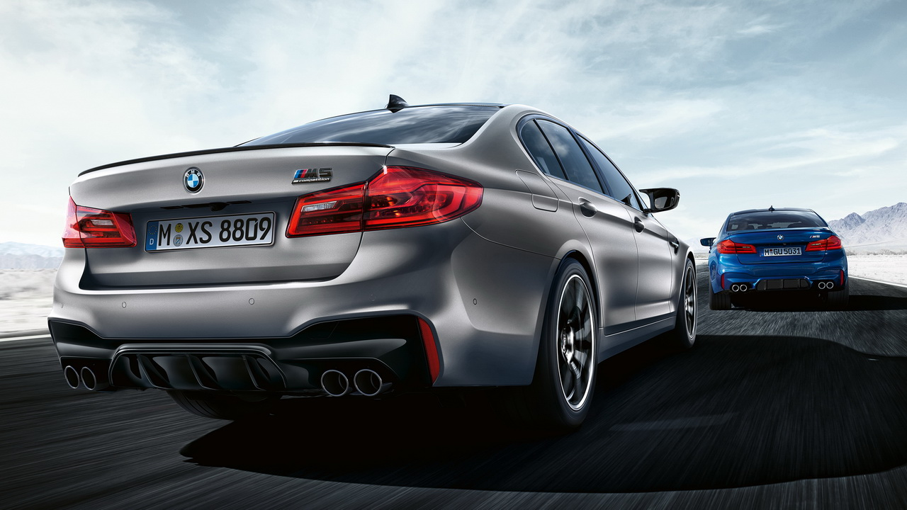 New BMW M5 Competition 2018 29
