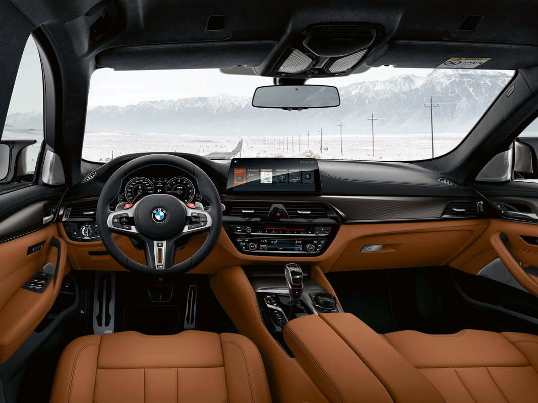 New BMW M5 Competition 2018 30