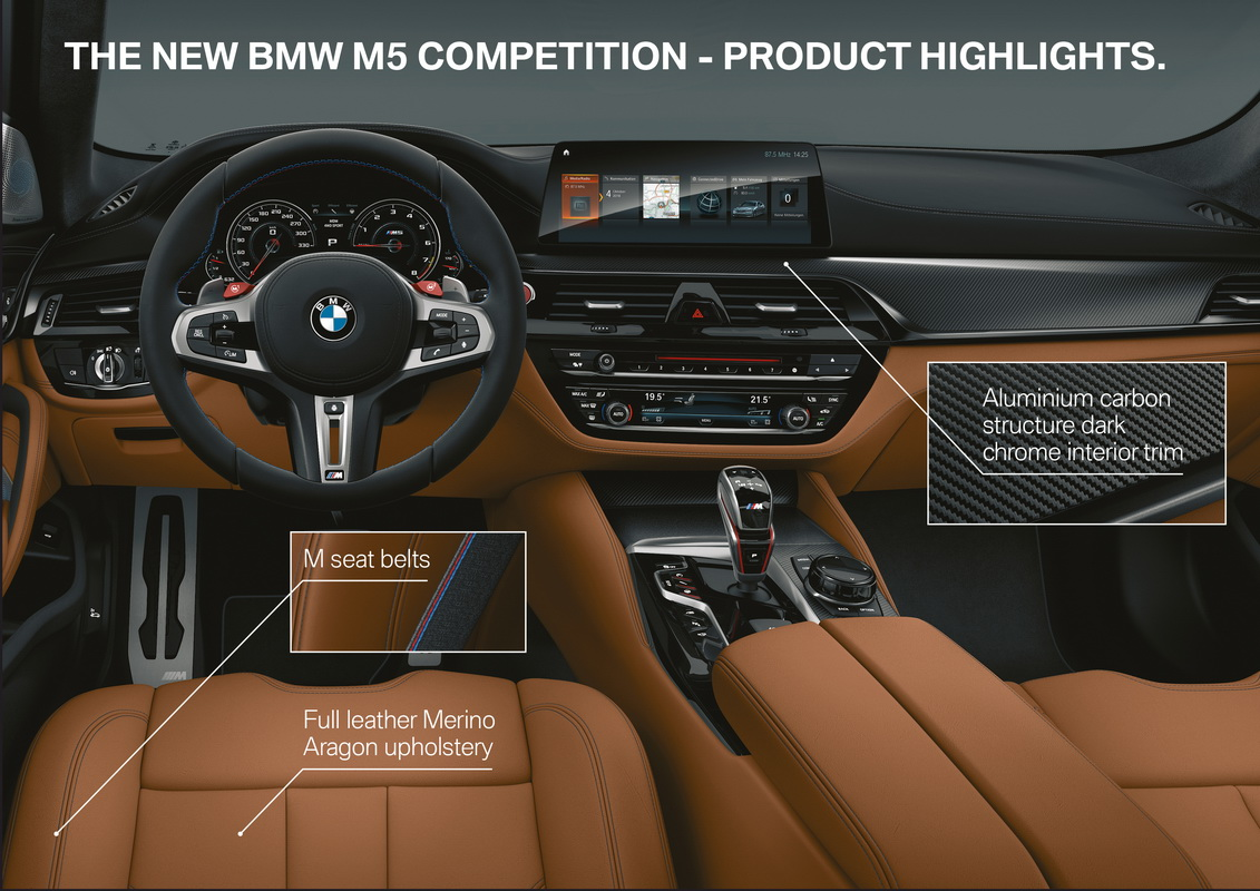 New BMW M5 Competition 2018 33